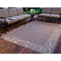 Safavieh Courtyard Daniel Power-Loomed Indoor/Outdoor Area Rug or Runner, Brown