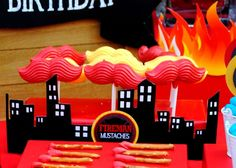 Fire Fighter Birthday Party Ideas | Photo 2 of 112