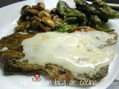 No soy un blog de cocina: SALSA DE QUESO DE CABRA
