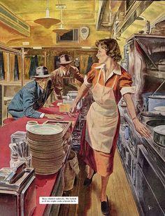 Not Pulp Covers • startwithsunset:   Robert Fawcett (1903–1967)