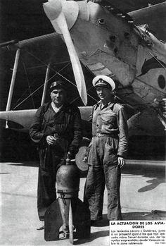 La actuación de los aviadores Mundo Gráfico, 5 de agosto de 1936 (www.bne.es)
