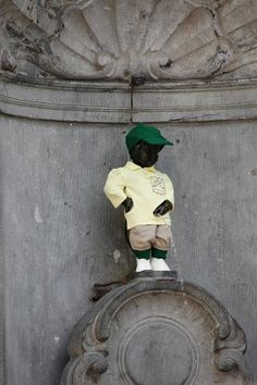 Times Copy Editor Becki Chiasson checked in from Brussels, Belgium. One of her can't miss sights is the Manneken-Pis. Arguably the most famous icon of Brussels, the statue of a urinating boy draws immense crowds on a daily basis. He is frequently dressed up in fancy costumes, some of which are kept on display at the Musee de la Ville de Bruxelles, and, on special occasions, wine or even champagne flows forth from the statue instead of water.