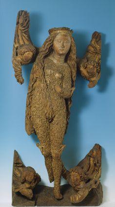 Anonym, Erhebung der Maria Magdalene (Maria Aegyptiaca), um 1480  © Suermondt-Ludwig-Museum, Aachen, Foto: Anne Gold, Aachen