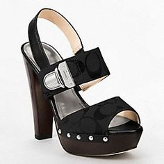 Darcey Signature Heel - Coach shoes named after me! Yes!!