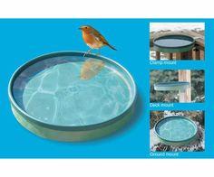 Heated Bird Bath 3 Mounting Options