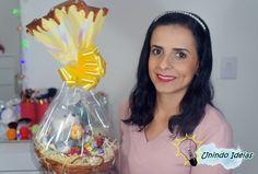 DIY: Cesta com Chocolates