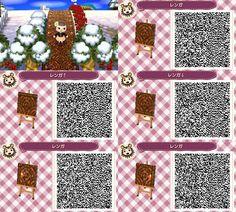 Round brick flower bed acnl qr codes acnl qr codes for Boden pokemon
