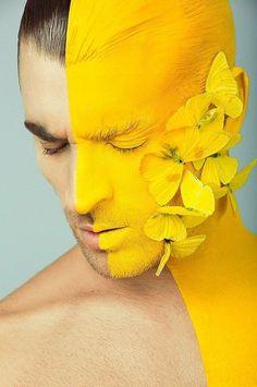 Resultado de imagem para pinterest pessoas com borboleta amarela