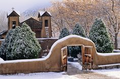 """Visitors come from everywhere to visit the Santuario de Chimayo in Chimayo, New Mexico, which is often called the """"Lourdes of America"""" due to the alleged healing properties of the soil that comes from the church's sanctuary."""