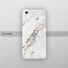 White marble iphone 6 case 4.7 iphone 6 plus case by CaseToaster