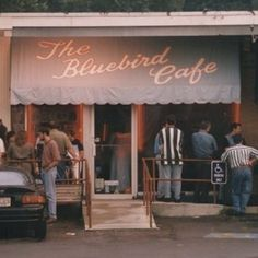 "The Bluebird Cafe: Nashville — Nashville ""Not only is The Bluebird Cafe the venue where all the Nashville characters have played, but it's also a famous, classic music venue for songwriters to perform the hit songs they wrote. Nashville Series, Nashville Tv Show, Visit Nashville, Nashville Music, Nashville Trip, Nashville Tennessee, Bluebird Cafe Nashville, Blue Bird Cafe, The Places Youll Go"