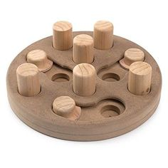 Zanies Wood Interactive Puzzles Dog Toy, Free Shipping, New