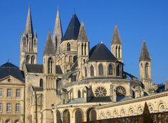 """Abbey of Saint-Étienne, Caen, founded by William, Duke of Normandy - """"Queens of the Conquest"""", Alison Weir"""