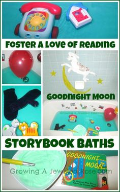 Goodnight Moon Storybook Bath infused with the calming scent of lavender - Storybook Baths are a great way to foster a lifetime love of reading while bringing your child's favorite books to life!
