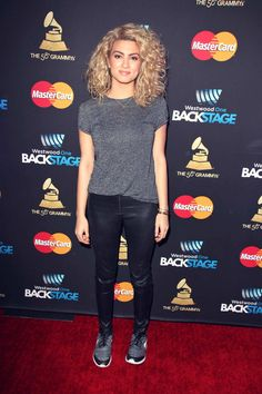 Tori Kelly The Westwood One Radio Remotes The 58th GRAMMY Awards #leatherpants