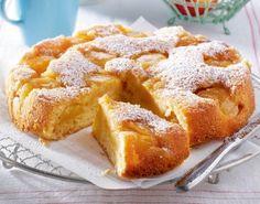 Gestürzter Apfel-Joghurt-Kuchen Rezept