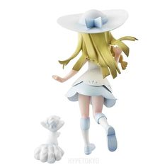 Pokemon Mega House G.E.M. Series Non Scale Figure : Lillie & Snowy (Alola Vulpix)   #pokemon #lillie #snowy #figure #animefigures #hypetokyo