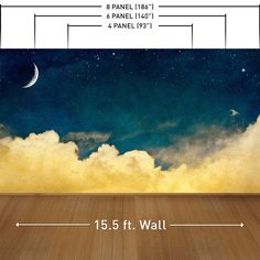 One For The Dreamers Wall Mural Decal