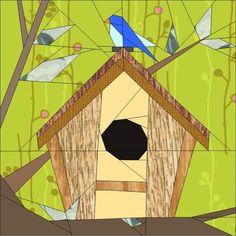 Birdhouse BoM March | Craftsy