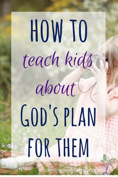 One great resource to help kids understand how God works in their lives.