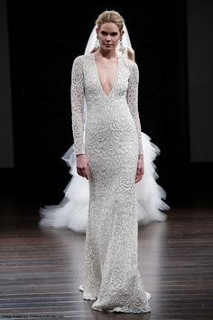 Naeem Khan Spring 2016 Wedding Dress Collection | Wedding Dress | Hairstyles | Bridal Beauty