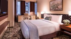 Deluxe Queen Bedroom #cassahotel vossy.com