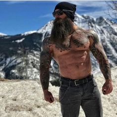 how to beard Great Beards, Awesome Beards, Hairy Men, Bearded Men, Bearded Tattooed Men, Badass Beard, Beard Designs, Rugged Men, Beefy Men