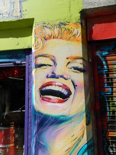 Street Art around Brick Lane in East London. This part of London has always been very diverse and multicultural. Lots of fun street art and some by very famous people. This art is continually changing of course. Street Art London, Newspaper Art, Brick Lane, East London, Graffiti Art, Famous People, Display, Cool Stuff, Tattoo Ideas