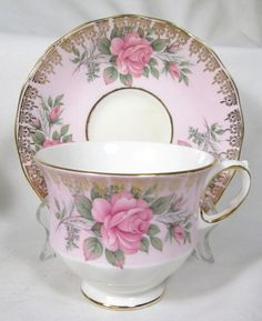 queen anne cup & saucer