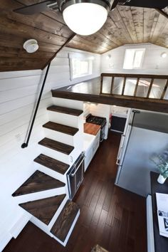 This is a 20′ Napa Edition Tiny Home on Wheels by Mint Tiny Homes. Please enjoy, learn more, and re-share below. Thanks! Modern 20′ Napa Edition THOW by Mint Tiny Homes
