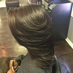 Natural hair Silk Press Pressed Natural Hair, Natural Hair Styles, Long Hair Styles, Silk Press, Hair Care, Hair Color, Board, Beauty, Haircolor