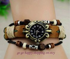 Restoring ancient ways is pure leather by gogohappyshopping, $11.99