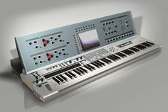 Renders of The Waldorf Wave II by Axel Hartmann. This synth was never produced.
