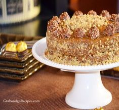 Dulche De Leche Layer cake - Natalka- easiest cake ever Russian desserts, recipes
