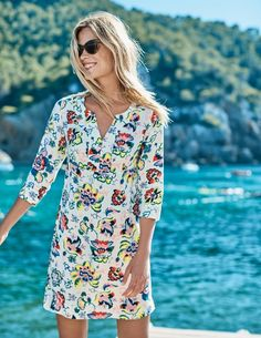 9f19c27ea73 This modern take on the classic tunic dress has become a much-loved Boden  favourite