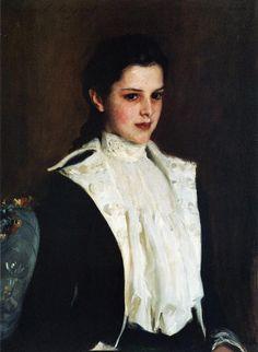 Alice Shepard 1888. Джон Сингер Сарджент