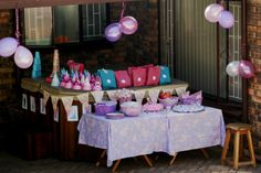 Princess Party all ready for the kiddies to enjoy!