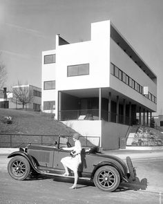#Weißenhofsiedlung‬ ‪in #Stuttgart, Germany, 1927. Le #Corbusier & Mies van der #Rohe. Photo © Daimler