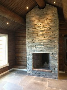 Mountain Interiors, Winter House, Timber House, Mountain Cottage, Cottage Interiors, Log Homes, Chalet Style, Cabin Living, Simple Fireplace