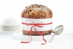 Chocolate-Hazelnut Panettone - this looks amazing!  Would be great for hostess gifts at Christmas.