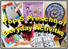 hands on preschool activities
