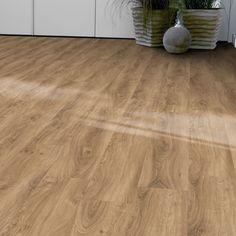 "Lame PVC clipsable imitation bois rustique | Tarkett Starfloor Click 55 ""35950027 English Oak Natural"" - BRICOFLOR Imitation Parquet, Hardwood Floors, Flooring, English, Roof Top, Decoration, Rustic Wood, Bedroom, Home"