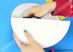 Rocking Paper Plate Angel - Easy Peasy and Fun