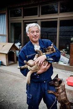 This Man Lives Alone In A Radioactive Town To Care For The Abandoned Animals