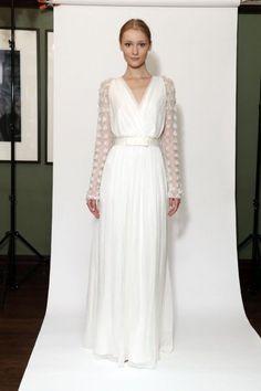 Vestidos de novia con mangas largas - Temperley Bridal