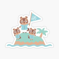 Animal Crossing stickers featuring millions of original designs created by independent artists. Childrens Stickers, Childrens Gifts, Phone Stickers, Cool Stickers, Safari Animals, Cute Animals, Animal Crossing Fan Art, Homemade Stickers, Funny Iphone Wallpaper