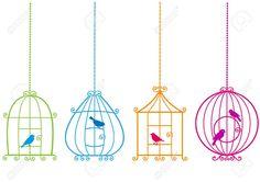 birdcage doodle - Cerca con Google