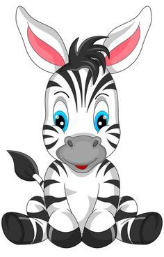Illustration about Illustration of cute zebra cartoon. Illustration of hoof, gift, mascot - 47136019 Cartoon Cartoon, Zebra Cartoon, Cartoon Kunst, Zebras, Safari Png, Animal Drawings, Cute Drawings, Cute Images, Cute Pictures