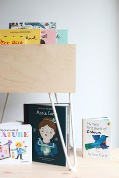 weald - UK adventures: KIDS | IKEA Moppe Kids Book Storage - A collaboration with The Hairpin Leg Co