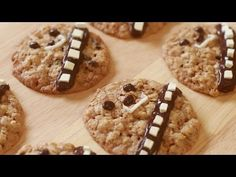 WOOKIE COOKIES - NERDY NUMMIES---would love to make these for my aunt's birthday!:)